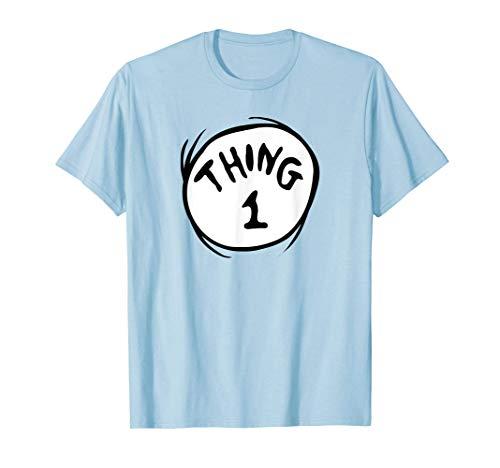 Dr. Seuss Thing 1 Emblem Color Option T-Shirt