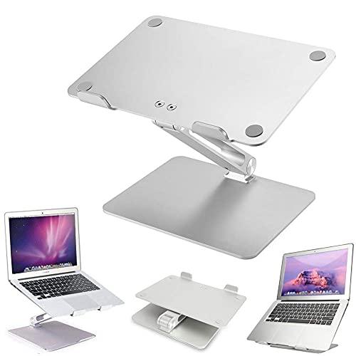Worth having - Soporte portátil Multi-angle Laptop Riser, portátil ajustable Soporte con ventilación térmica, sentarse ergonómico para soportar el soporte portátil convertidor, todas las tabletas port