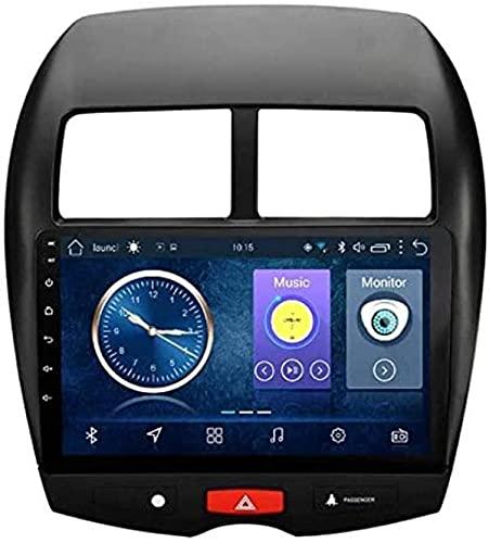 Android 8.1 Car Radio para Mitsubishi ASX 2013-2017 Estéreo para automóvil Navegación GPS Pantalla táctil Reproductor multimedia de 10.1 pulgadas para automóvil Soporte de pantalla WiFi Bluetooth