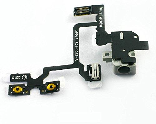 Original auriculares volumen Cable Flex para iPhone 4 G blanco