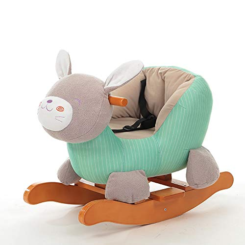 Learn More About Kibten Lovely Rabbit Plush Stuffed Animal Rocker Baby Child First Rocking Horse wit...
