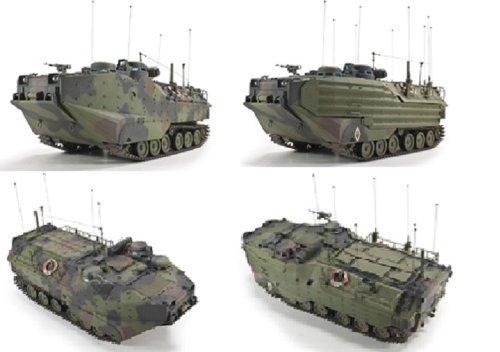 AFV35S70 1:35 AFV Club AAVC-7C1 Assault Amphibian Vehicle Command Model 7C1 MODEL KIT by AFV Club