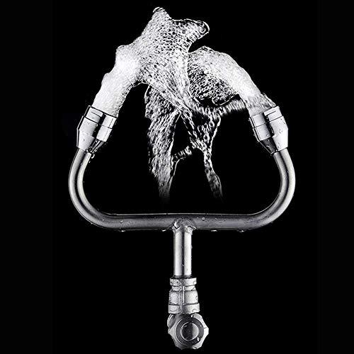 BXUFEI Augenspülstation Wasserhahn Montiert, Notfall Wand- Eyewash Einheit-Kit Mit Continuous Flow Für Lager, Holz-Shop, Keller, Auto Body Shop