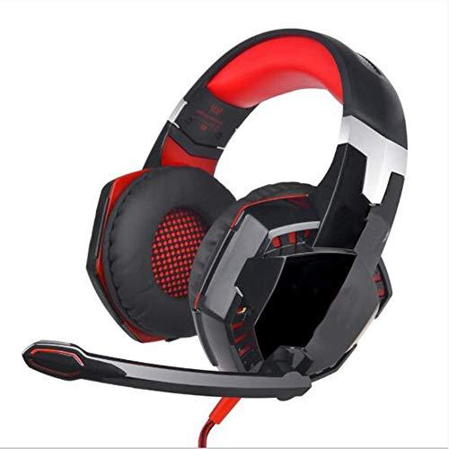 PS4 Wired Gaming-headset - oordopjes, koptelefoon met draaibare ruisonderdrukking, voor PS4, Nintendo Switch, Xbox One, PC, laptop, Mac, smartphone