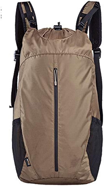 Tactical Backpacks Storage Waterproof Travel Hiking Backpack,Brown
