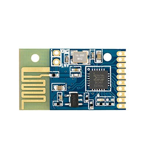 Busirde Interruptor L24YK Baja Potencia 2.4G transmisor-Receptor inalámbrico Módulo de 6 Canales Gratis Programación del módulo de Control Remoto
