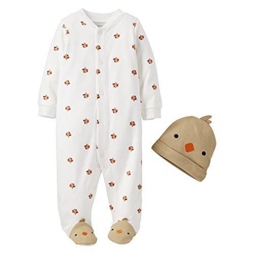 f70c0c0834b8 Little Turkey - Thanksgiving Sleeper Set for Babies