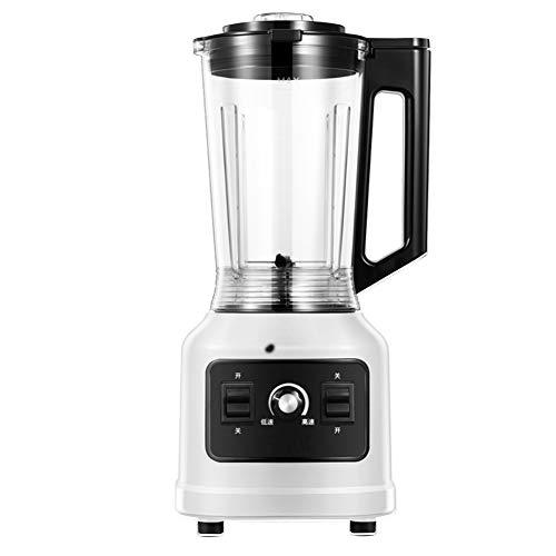 DBM-CXG Blender Smoothie Maker 800W, Smoothie Blender for Milk Shake, Frozen Fruit and Ice Crush with 1.8L Glass Jug, 6 Sharp Stainless Steel Blades, 3 Adjustable Speeds, Low Noise