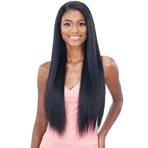 Freetress Equal Synthetic Premium Whole Lace Wig - PL-03 (1B Off Black)