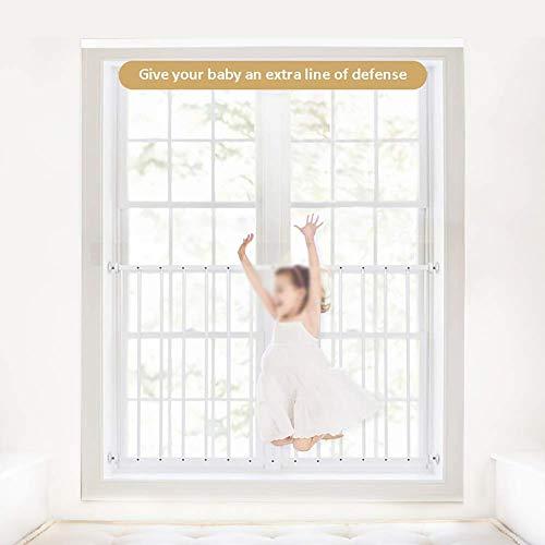 Guardias para niños para niños para niños Guardes de seguridad de la ventana Barras de seguridad, ajuste 33.4-137 pulgadas (Color: H75CM, Tamaño: W85-93 CM) (Color: H75CM, Tamaño: W211348CM) LOLDF1