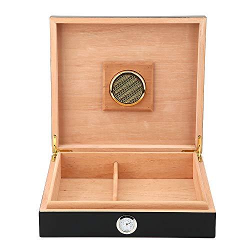 Caja de puros elegante Caja de puros para el hogar(black)