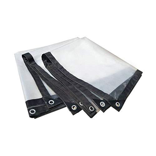 JLWM Lona Transparente Impermeable A Prueba De Viento Lonas PE Plástico Lona Proteccion Impermeable Polvo-prueba Mantener Caliente Frío-resistente Para Exterior Invernadero-3x2.5m