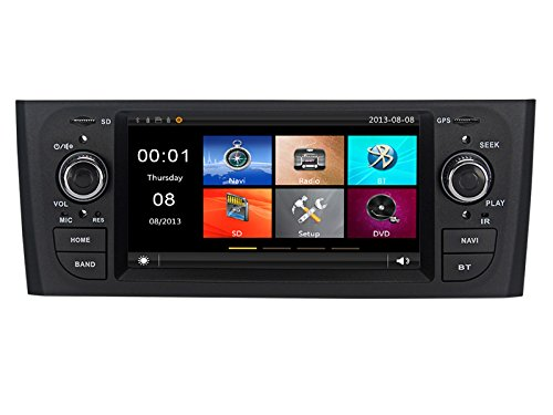 GPS USB SD Bluetooth autoradio navigatore Fiat Grande Punto 2006, 2007, 2008, 2009, 2010, 2011, Fiat Linea