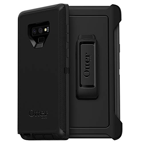 OtterBox Defender Series Schutzhülle für Samsung Galaxy Note9, Displaylos, Einzelhandelsverpackung, Schwarz