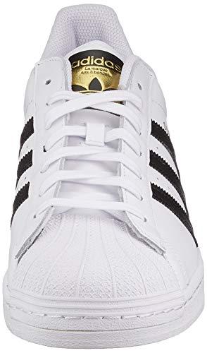 adidas Originals Superstar, Zapatillas Deportivas Hombre, Footwear White/Core Black/Footwear White, 40 2/3 EU