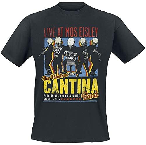 Bravado Star Wars-The Fabulous Cantina Band Camiseta, Negro, X-Large para Hombre