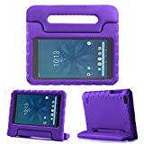 """REGOKI Onn 8"""" Case, Lightweight Handle Stand Kids Cover Compatible with Walmart Onn 8inch Android Tablet (Model ONA19TB002) 2019 Released (Purple)"""