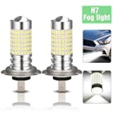 AMBOTHER, 2 H7 Fendinebbia LED Xenon Pere 144 SMD, 100 W