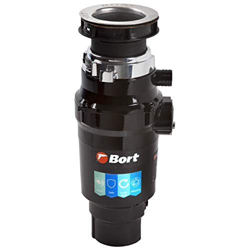 Bort MASTER ECO Triturador de basura. 1000 ml, 390 W, 0,5 caballo de vapor, protección contra la contaminación.