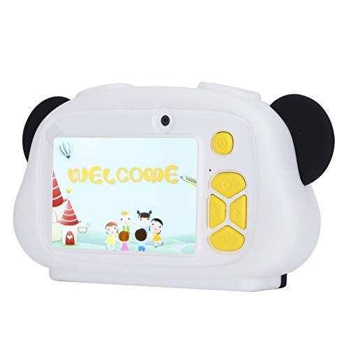 Cámara de juguete, práctica, promoción intelectual, tamaño compacto, cámara digital, juguete, resistente a caídas, duradero para exteriores, hogar(panda)