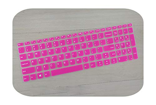 TOIT - Funda para teclado Lenovo V310-15 310-15 Ideapad 110-15 510-15 510-15 Isk 110310510 15-rosa