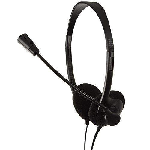LogiLink Easy stereo headset hoofdtelefoon met microfoon
