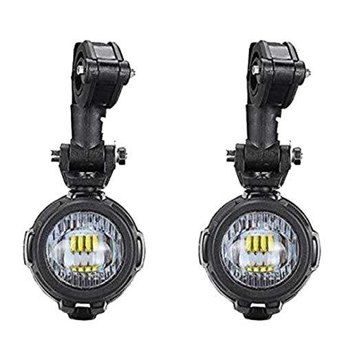 Gaetooely Moto 6000K 8000LM LED Illuminazione Frontale Faretti Fari Fendinebbia per