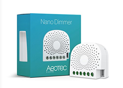 Aeotec AEOEZW111 Nano Dimmer, 240 V, Weiß