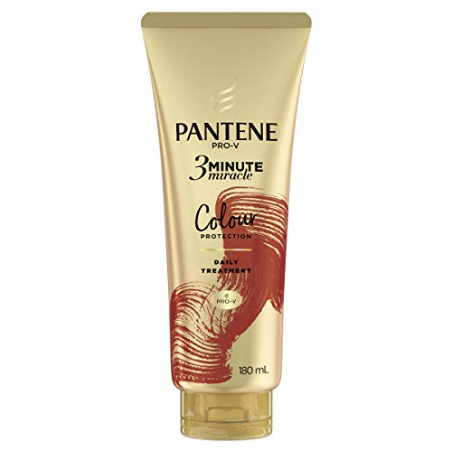 Pantene 3 Minute Miracle Colour Protection Hair Treatment: Deep Conditionining Treatment For Coloured Hair 180ml