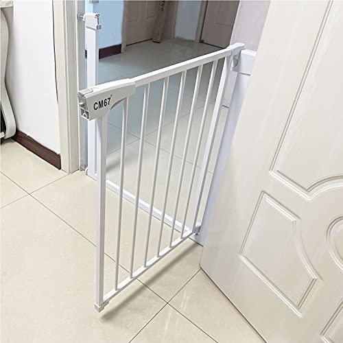 Barrera Seguridad Nios Escalera Vallas de Seguridad Barrera Escalera Vallas de Seguridad Puerta Seguridad Beb Extensibles para escaleras Pasillos(229-236cm)