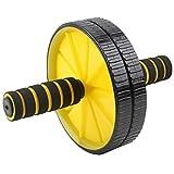 Azorex Rodillo para Abdominal Rueda de Ejercicios Fitness AB Wheel Aparato de Entrenamiento Núcleo de Fuerza para Hombres y Mujeres Gimnasio en casa