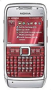 هاتف نوكيا اي 71-110 ميجا، الجيل الثالث + واي فاي، احمر