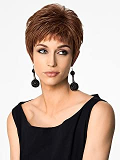 Natural Hairpieces Female Wig With Bangs Short Wig for Daily Use
