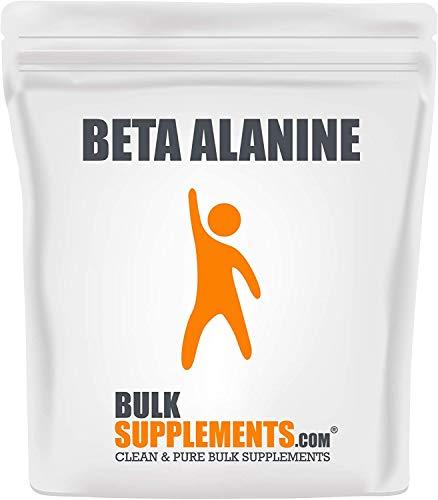 Beta Alanina en Polvo de Bulk Supplements | Suplemento | 250 gramos