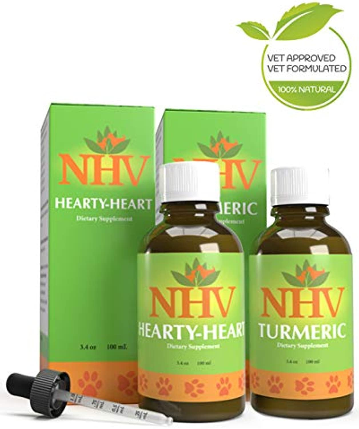 NHV Heart Murmur Support Kit  Heart Support for Dogs, Cats, Pets