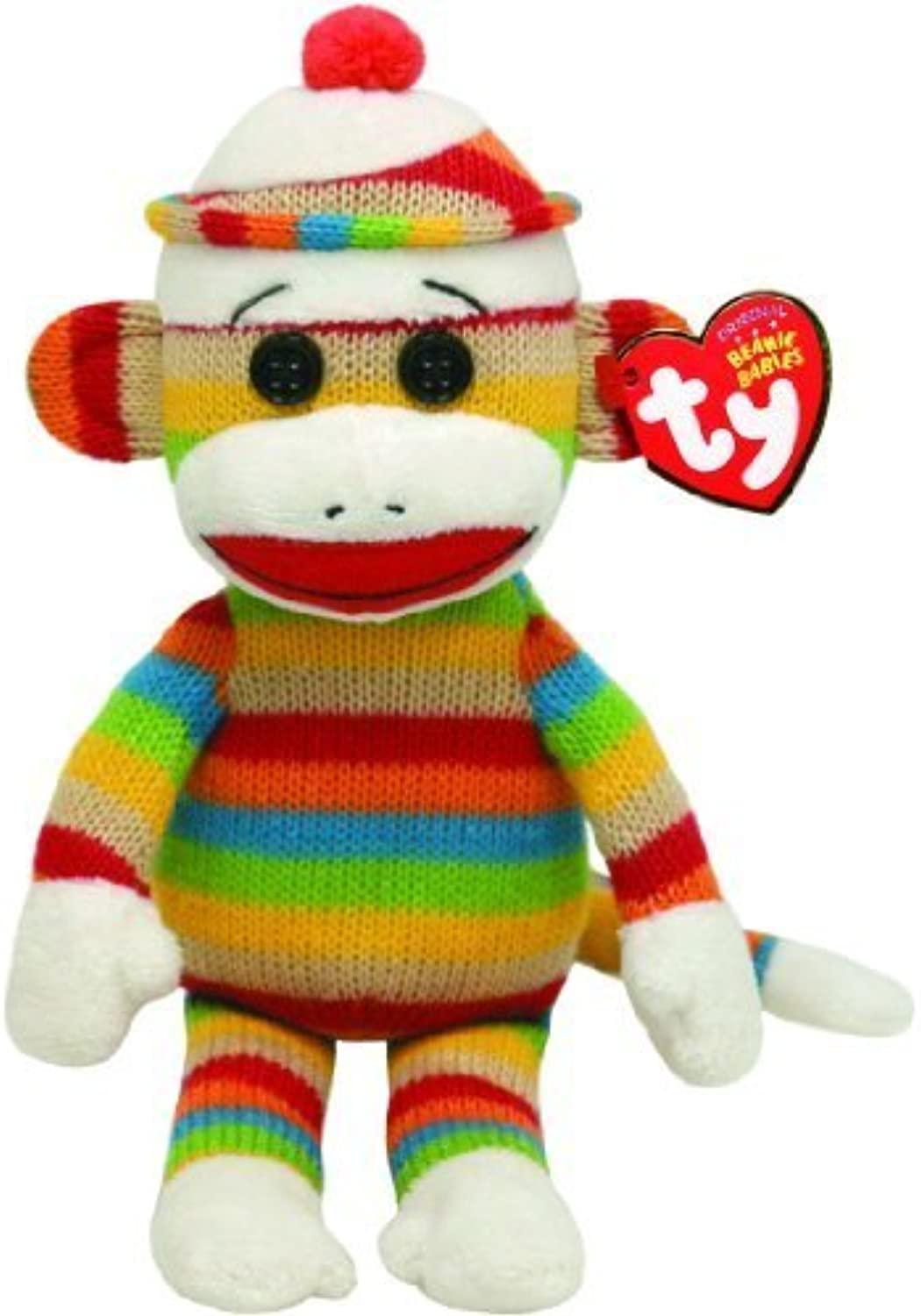 Ty Beanie Babies Socks Monkey (Stripes) by Ty Beanie Babies