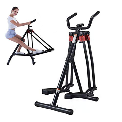 HE-XSHDTT Faltbare Stepper Space Walking, Air Walker Indoor Gym Übung, Home Fitnessgeräte Swing Trainingsgerät 360 Grad Maschine