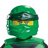 Disguise Lloyd Ninjago Mask, Lego Ninjago Legacy Themed Character Costume Face-mask, Kids Size Green, Childrens Size (115289)
