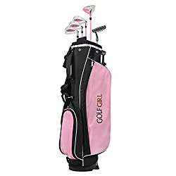 top rated Golf Girl Junior V2 Golf Set with stand bag (right hand, 4-7 years old) 2021