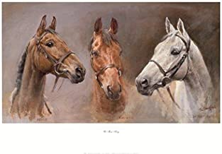 We Three Kings by Susan Crawford - 31x21 Inches - Art Print Poster