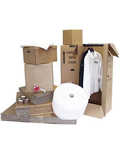 Kit de mudanza para casa de 5 dormitorios: Amazon.es: Oficina y papelería