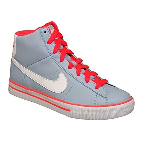 Nike - Sweet Classic High Gsps - 378792401 - Farbe: Weiß-Grau - Größe: 36.5 EU