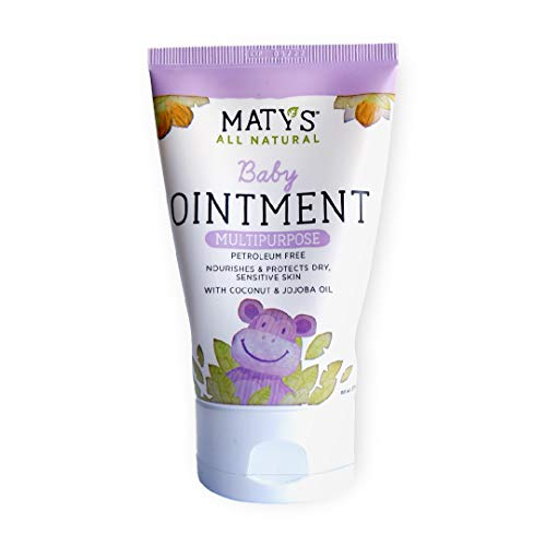 Maty#039s All Natural Multipurpose Baby Ointment  Petroleum amp Fragrance Free  Made with Coconut amp Jojoba Oils  375 oz