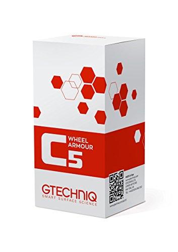 Gtechniq C5 Wheel Armor 15ml - Protection céramique jantes hautes performances, repousse les poussières de freins et la saleté, protège vos jantes, nettoyage facilité - Effet durable jusqu'à 2 ans