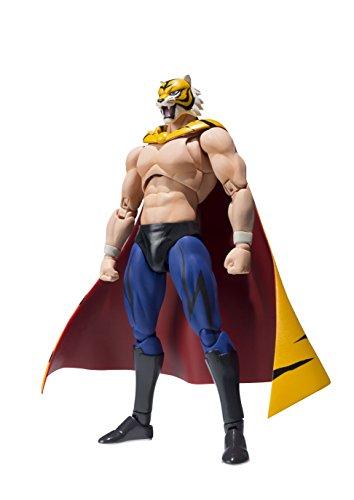 BANDAI Tiger Man 55389-Tiger Sh Figuarts Mask, 18 cm, 16564