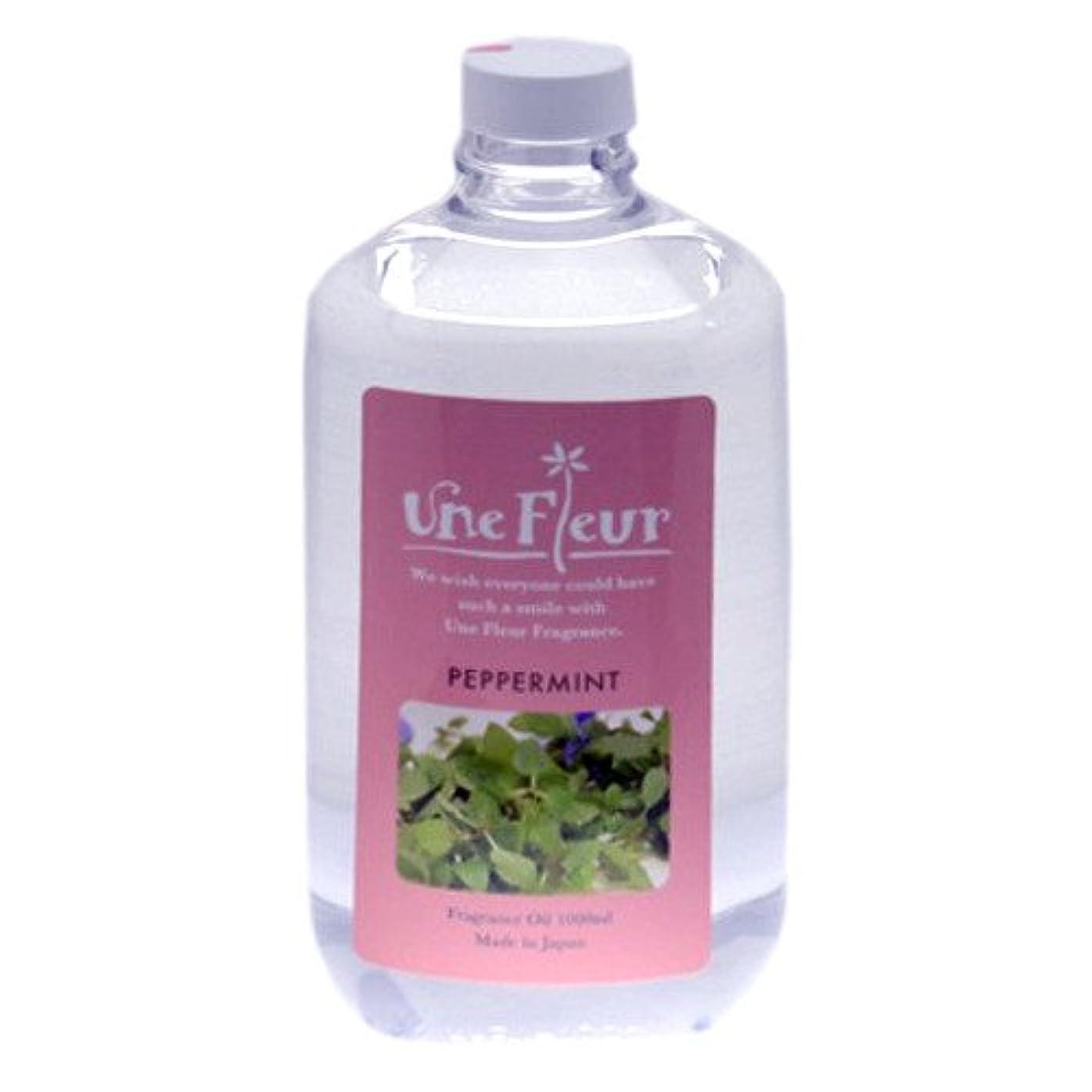 記念品香り病的ユヌフルール フレグランスオイル ミント 1L