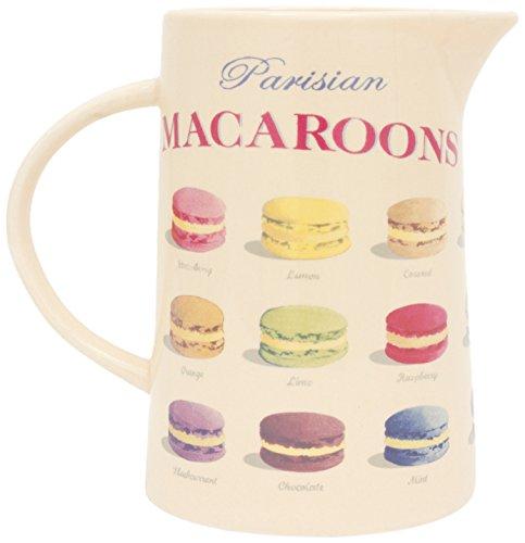 Martin Wiscombe 250ml kleine Krug aus Steinzeug Paris Macarons, Mehrfarbig