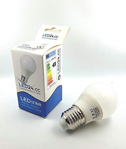 E27 12v 5w LED Birne 12 Volt Lampe/Leuchtmittel A50 klein. Großes Gewinde