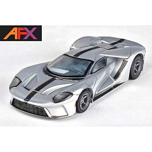 AFX/Racemasters Ford GT Silver Black, AFX22012