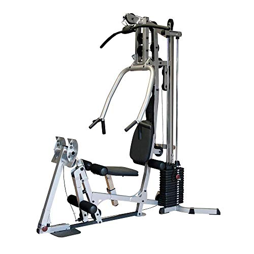 Fitness Factory BSG10X Home Gym with Leg Press Included, Easy Assembly, Small Footprint